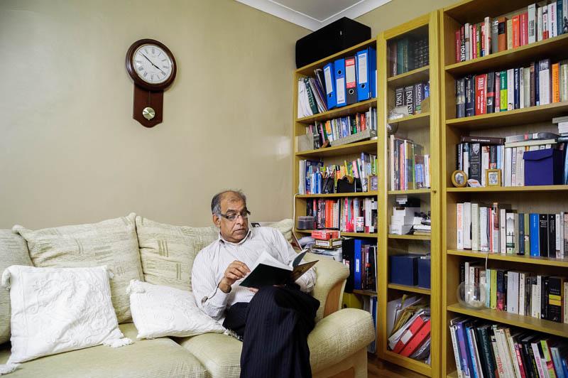 javid iqbal four fathers project portraits